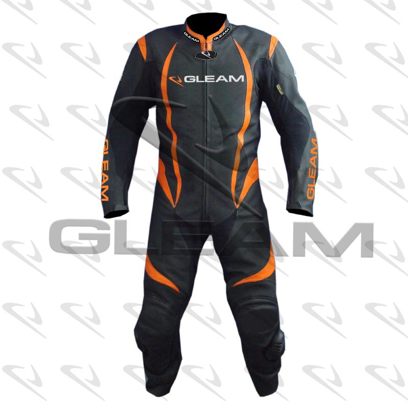 One Piece Motorbike Leather Suit