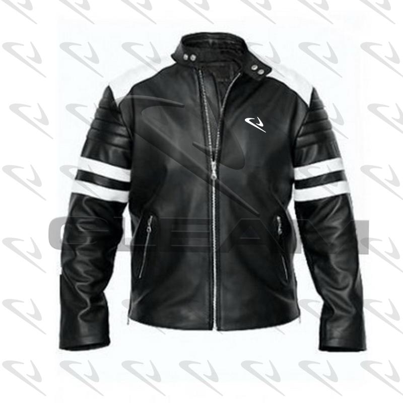 Motorbike Leather Jackets Mens