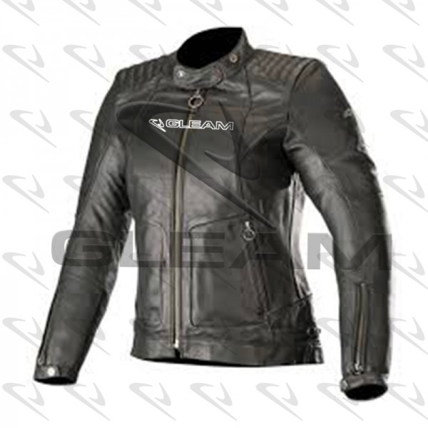 Motorbike Leather Jackets Womens